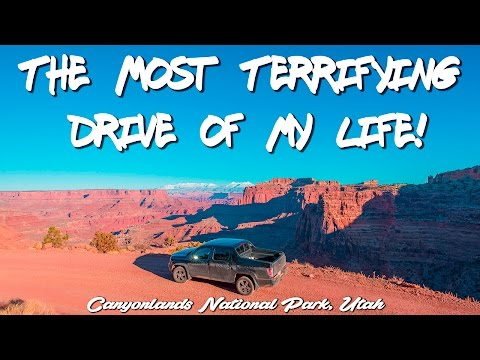 Canyonlands National Park: The Most Terrifying Drive of my Life! (Ep. 19)
