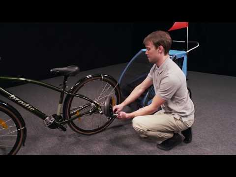Thule Coaster XT Bicycle Trailer Demonstration