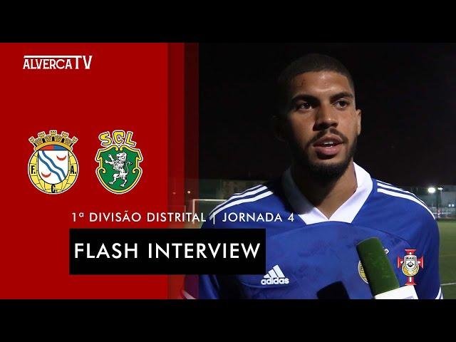 FC Alverca 3 - 0 SC Lourel   Flash Interview