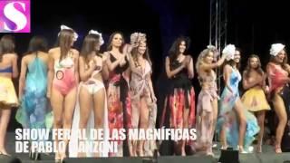 Show ferial de las Magníficas de Pablo Manzoni