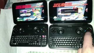 GPD Win (Hyperspin Test Online!!) Netplay Super Nintendo Emulator [Retroarch] 0 Lag.