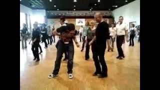 CHILL FACTOR line dance avec Daniel Trepat