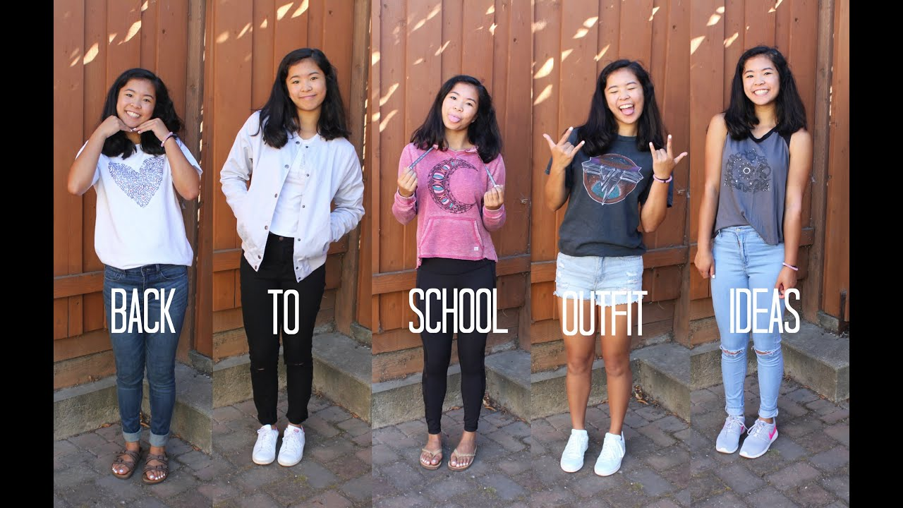 Back To School Outfit Ideas