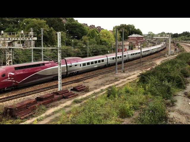 Thalys TGV PBKA - Rame n° 4346