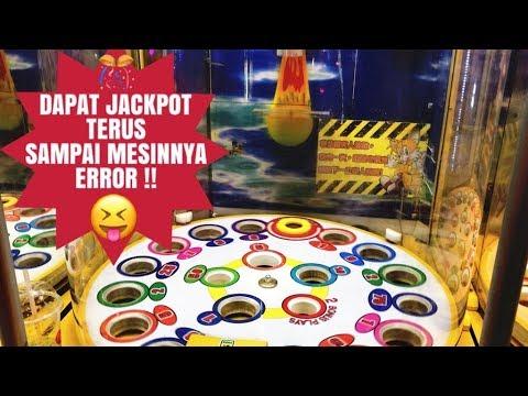 DAPAT JACKPOT TERUS SAMPAI MESINNYA ERROR !! BALL DROP GAMES