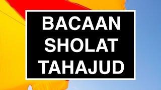 Bacaan Sholat Tahajud Witir Tata Cara Sholat Tahajud Seri 02