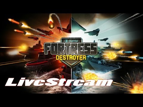 Fortress: Destroyer (by Ninja Kiwi) - iOS / Android - HD LiveStream