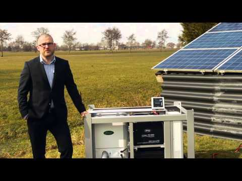 WhisperPower Grid Independer - Solar-Diesel Power System (DEUTSCH)