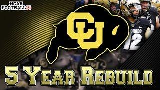 Biggest Upset in Pac-12 History! | Colorado 5-Year Rebuild | NCAA Football 14 (73/126)