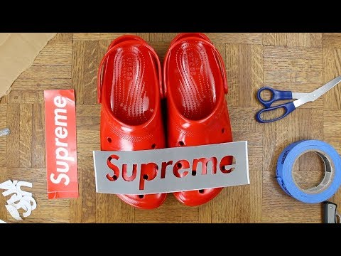 supreme-x-crocs-custom---we-made-history!!!