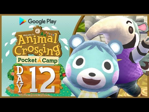 Animal Crossing Pocket Camp: Part 12   NEW ANIMALS ARRIVING! [🔴LIVE Gameplay]