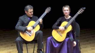 Kithara Duo plays Prelude in B-flat major by Mario Castelnuovo-Tedesco