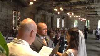 Britton and Natalie Nevada City Wedding