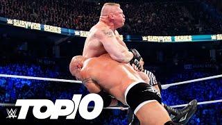 Goldberg dominating big opponents: WWE Top 10, Jan. 10, 2021