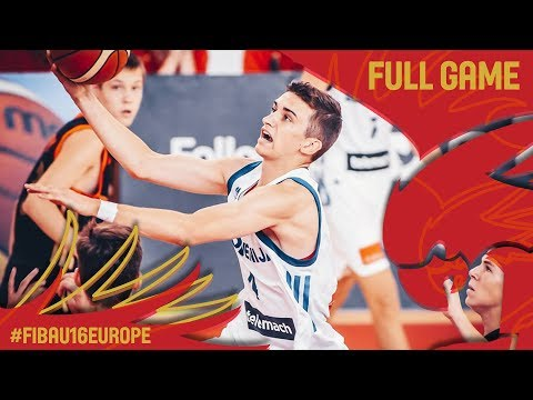 Slovenia v Russia - Full Game - Classification 9-16 - FIBA U16 European Championship 2017