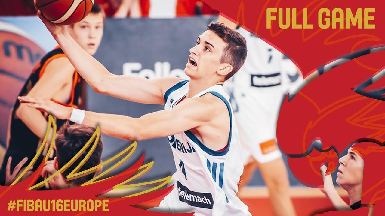 Slovenia v Russia - Full Game - Classification 9-16 - FIBA U16 European Championship 2017
