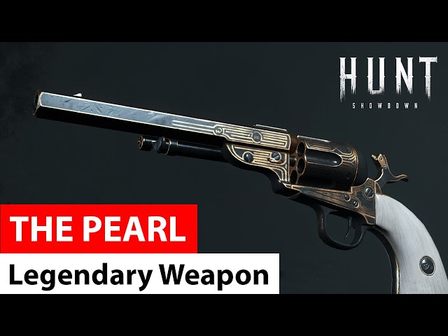 The Pearl for Caldwell Conversion Pistol | Legendary Weapons of Hunt: Showdown