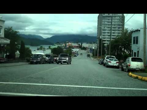 Prince Rupert BC A Drive Around The Town.