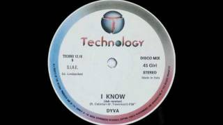 Dyva - I Know (Dub Version) [Audio Only]