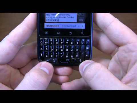 Motorola Droid Pro Review Part 1