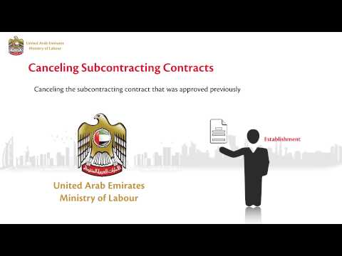 Cancelling Subcontracting Contracts