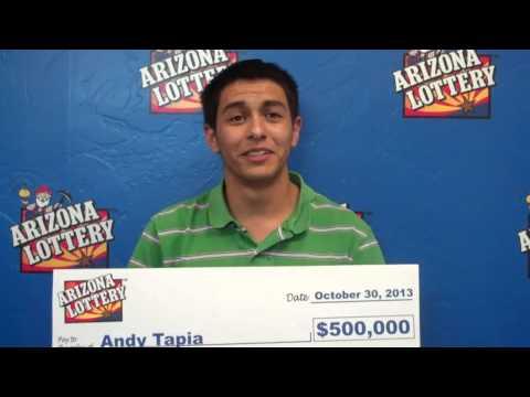 Arizona Lottery - Black Scratchers Second Chance Grand Prize Winner