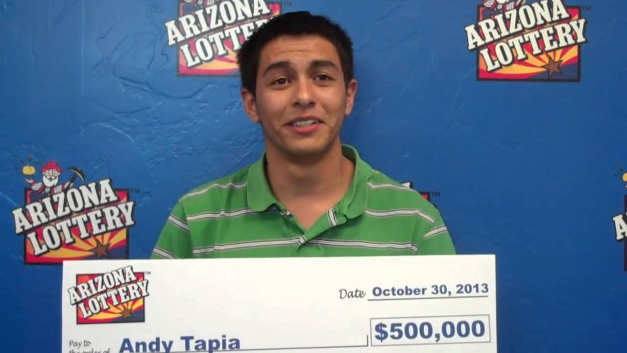 Arizona Lottery - Black Scratchers Second Chance Grand Prize Winner