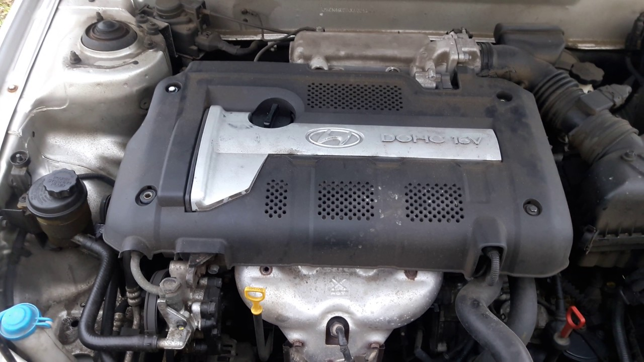 2006 Hyundai Elantra engine noise - YouTube