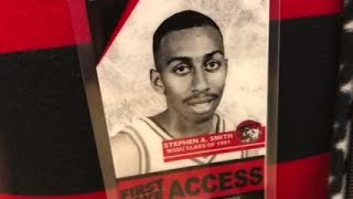 Stephen A Smith's show First Take was at WSSU