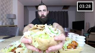 The Ultimate Doner Kebab Challenge! (Over 14lb of Take Away) | BeardMeatsFood