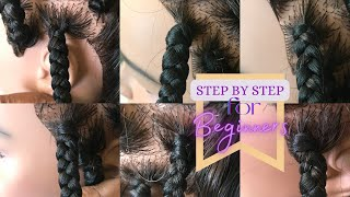 How to start a box braid | 6 methods...very detailed...