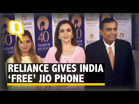Reliance Jio Debuts Free JioPhone in India | The Quint