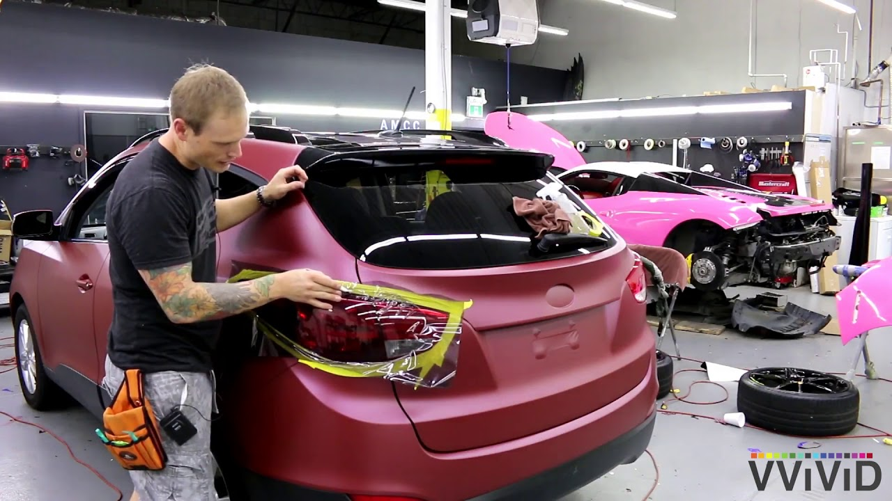 Tinting your Taillights the right way with VVIVID+ Smoke Air-Tint