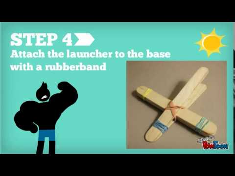 Build A Popsicle Stick Catapult Youtube