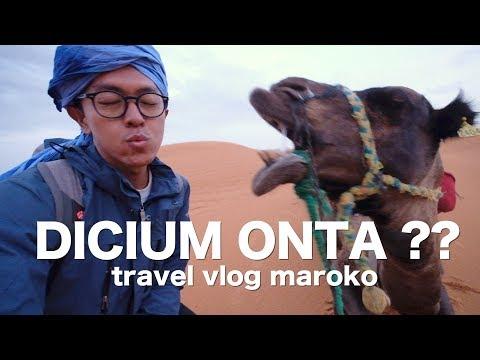 GURUN PASIR SAHARA DI MAROKO! - TRAVEL VLOG #42
