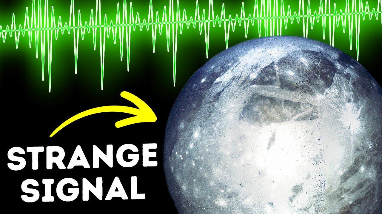 Something on Jupiter's Moon is Sending us Radio Signals