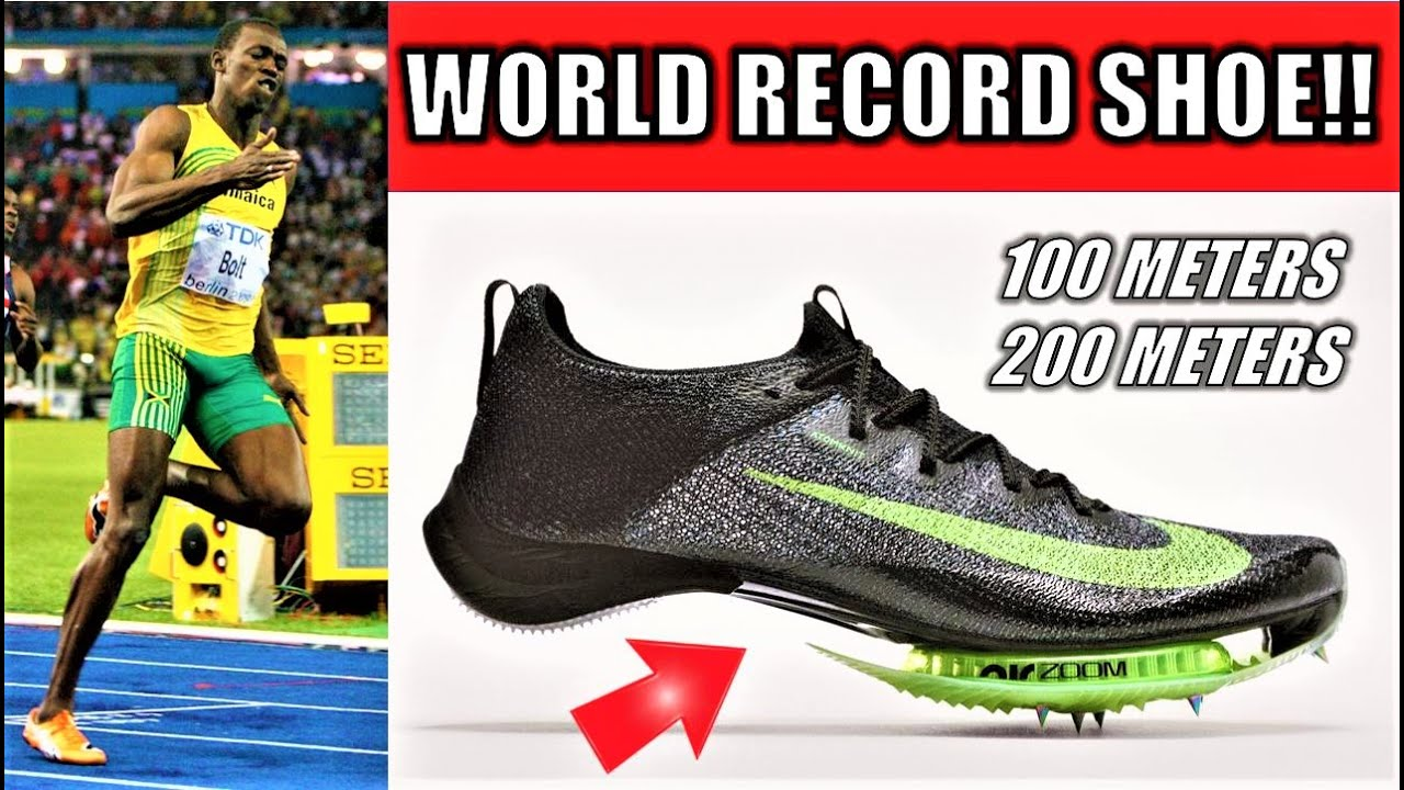Can Nike's AIR ZOOM VIPERFLY Break Usain Bolt's 100 and 200 Meter World  Records?