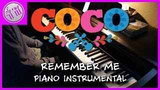 Remember Me - Coco【Piano Karaoke Instrumental】