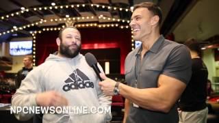 IFBB Pro Sean Harris interviewed By Frank Sepe For npcnewsonline.com -2017