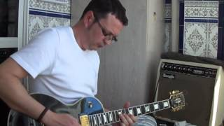 Gibson Les Paul Custom y Mesa Boogie Mark 1