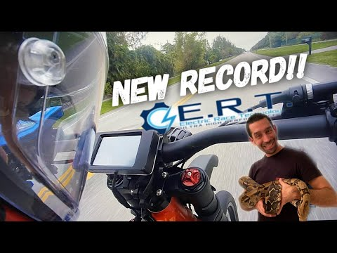 NEW SUR RON SPEED RECORD WORLDS FASTEST! ReptiCon 2020