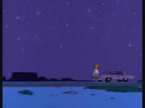 homero mirando las estrellas