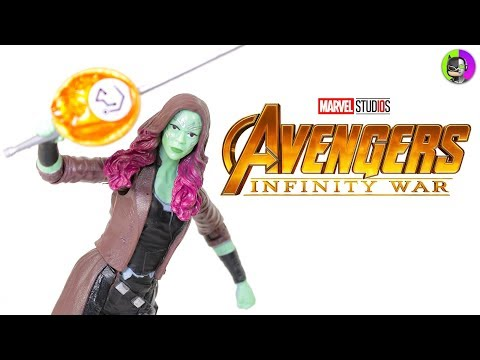 GAMORA Avengers Infinity War Figure Review   Hero Vision