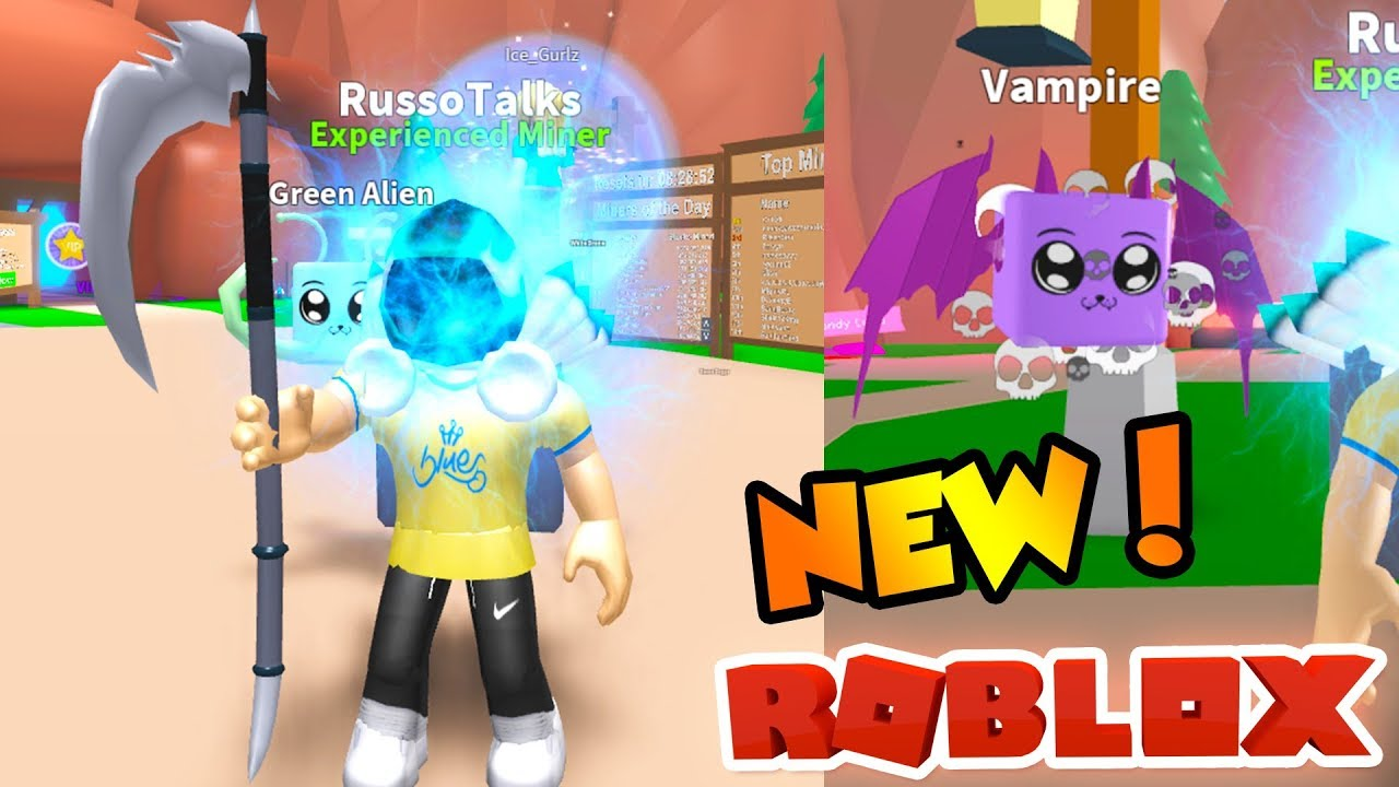 Mining Simulator Testing The Original Nuke 400 Robux We Went To A Pink Chest Legendary Pets Update Roblox Mining Simulator By Evanbear1