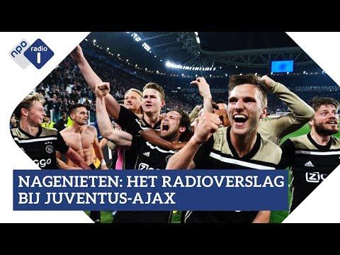 Ajax wint van Juventus in Turijn: luister het radioverslag   NPO Radio 1