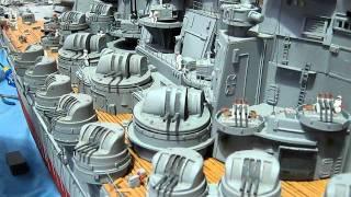 Big Yamato rc Battleship - Warwick 2009