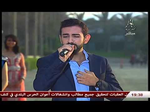 النجم السوري فادي رفاعي يغني زينة لفرقة بابيلون الجزائرية