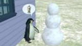 Sims 2 Seasons - Penguin