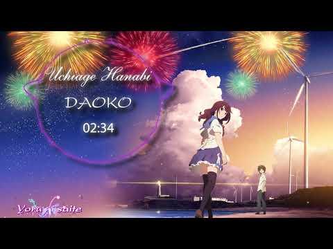 [Nightcore] [Lyric] [OST] Uchiage hanabi『打上花火』- DAOKO x 米津玄師