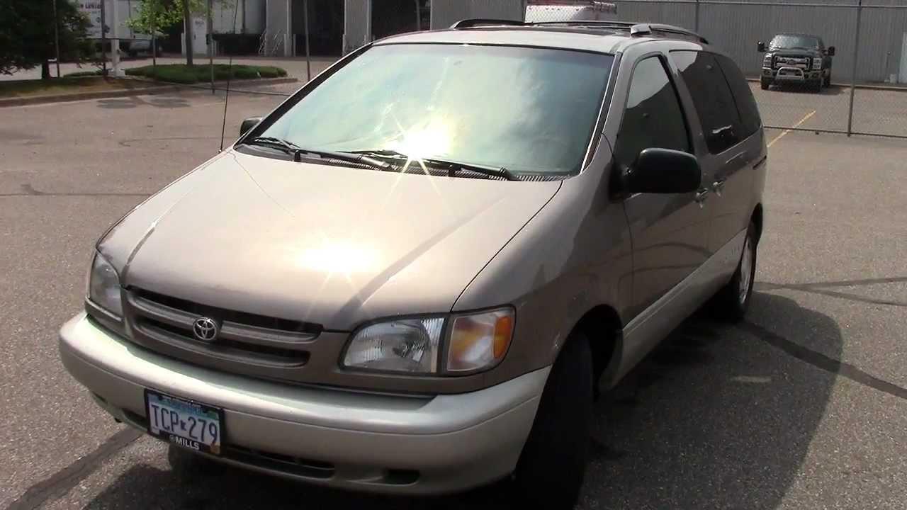 1999 Toyota Sienna Xle Fwd Minivan
